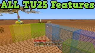 Minecraft Xbox 360 + PS3 TU25 ALL Features Showcase (All New Blocks)