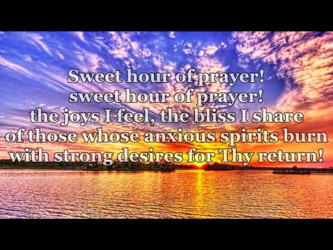 Alan Jackson – Sweet Hour of Prayer (lyrics)