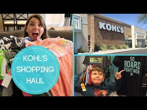 SUMMER KOHLS SHOPPING HAUL | SHOP WITH ME