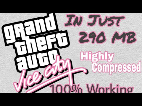 download gta vice city setup highly compressed for pc