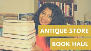 Antique Store Book Haul(I love visiting antique and vintage stores and secondhand shops, especially when they have cheap books! All of the books mentioned in this video were only 50 ..., 2015-10-28T13:00:01.000Z)