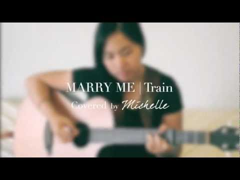 train marry me cover by michelle lam youtube