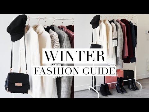 WINTER FASHION GUIDE 2018 | Favorite Trends & Wardrobe Basic