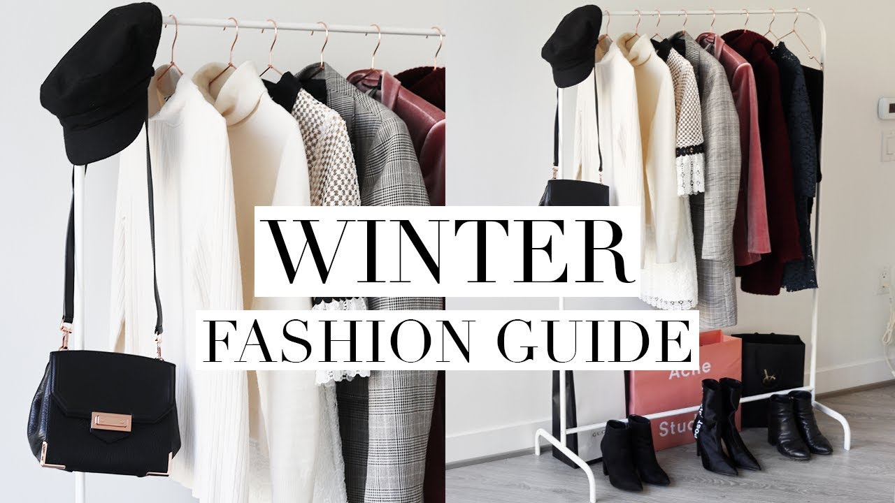 19a08da5d WINTER FASHION GUIDE 2018 | Favorite Trends & Wardrobe Basics - YouTube