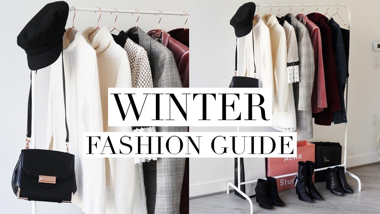 winter fashion guide 2018