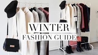 WINTER FASHION GUIDE 2018 | Favorite Trends & Wardrobe Basics