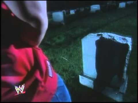 john cena pissing on tombstone