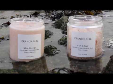 Green & Pure // French Girl Organics Sea Polish + Sea Soak