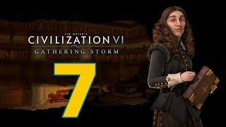 Прохождение Civilization 6: Gathering Storm #7 - Северная война [Швеция - Божество]