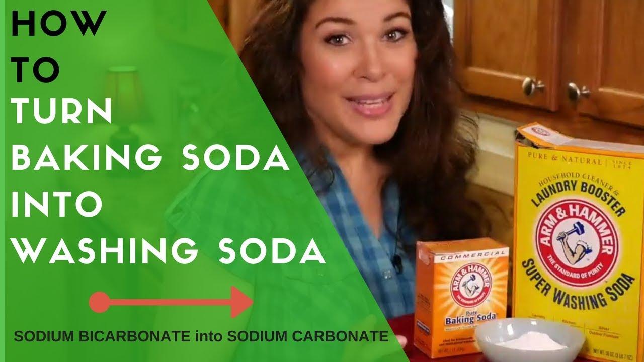 How To Turn Baking Soda into Washing Soda