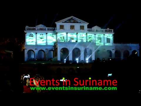 Awesome Video Projection Mapping at Carifesta XI in Suriname
