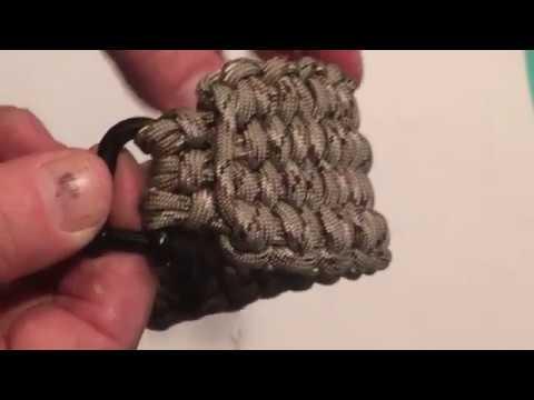Double Blaze Bar Quick Deploy Survival Bracelet - the mother of all paracord bracelets!