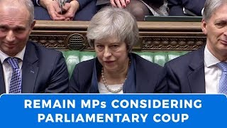 BREXIT storm deepens, as parliamentary coup may be forming against May and Corbyn