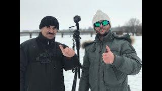 Зимняя рыбалка в период глухозимье. Телеканал ''Трофей'' у меня в гостях.
