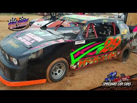 #29 Jo-Jo Morgan - Pony - 8-11-18 Fort Payne Motor Speedway - In Car Camera