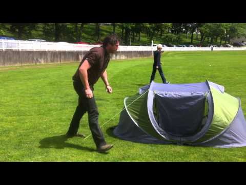 Instant Pop Up Tent Demonstration Youtube