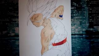 Speed drawing - gohan (dragon ball z) coup de crayon #1