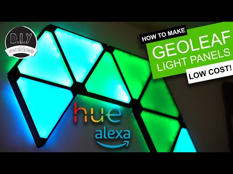 Download 3D Print your own Nanoleaf project - Alexa, Hue and App integration