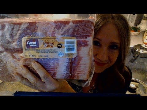 Great Value Hickory Smoked Bacon Review & How To Cook Bacon 🥓🥓🥓