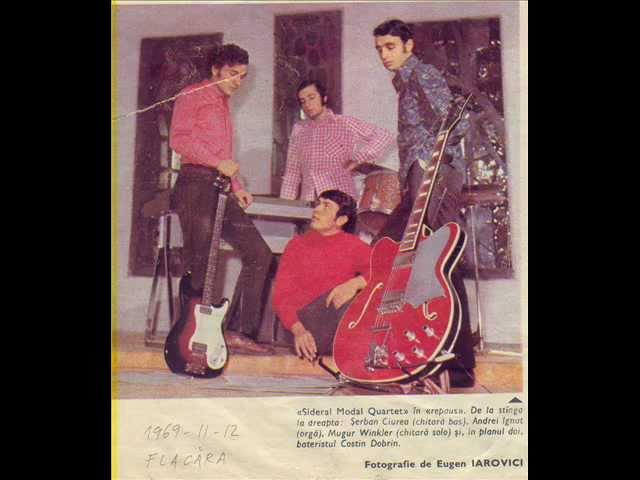 Sideral Modal Quartet 1970, Blues ptr primele 3 randuri