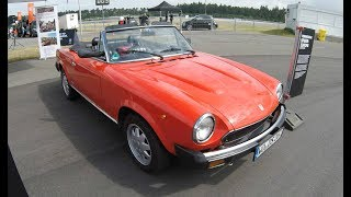 PINIFARINA (FIAT) SPIDER EUROPA AZZURA DS2 1985 ! 1 OF 1397 WORLDWIDE ! WALKAROUND + INTERIOR !