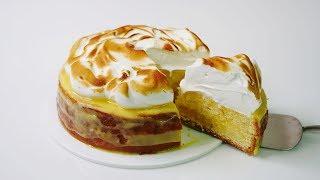 레몬 머랭 케이크 만들기 Lemon Meringue Cake  한세
