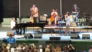 Ben Folds (with Tall Heights) - Battle of Who Could Care Less - Forest Hills Stadium - 8.17.08