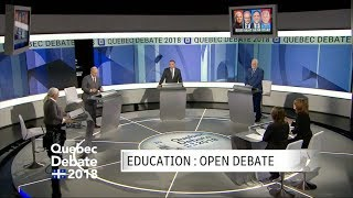 The 2nd 2018 Quebec Leaders' election debate, in full - 17 Sep 2018