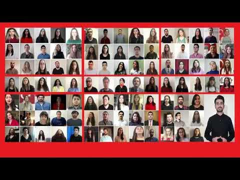 TRT Türk Sanat Müziği Gençlik Koroları - Eğilmez Başın Gibi Gökler Bulutlu Efem