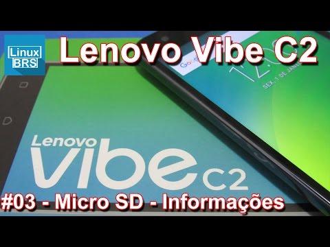 Lenovo Vibe C2 - Micro SD - Memória interna e movendo APP