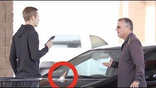 Cone-ing Peoples Cars Prank!!