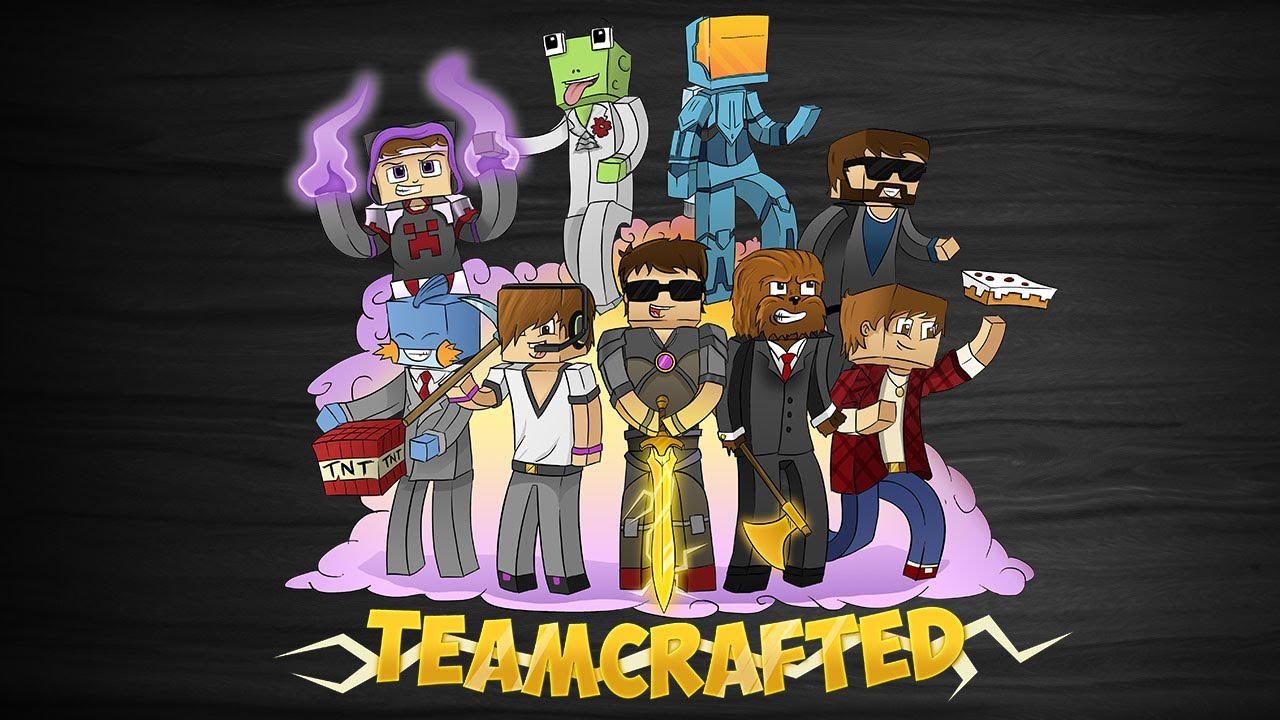 Minecraft SpeedART - SkyDoesMinecraft | Teamcrafted - YouTube