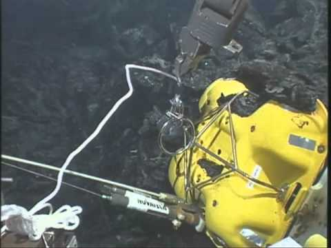 Recovering Oceanography Equipment Stuck In Lava