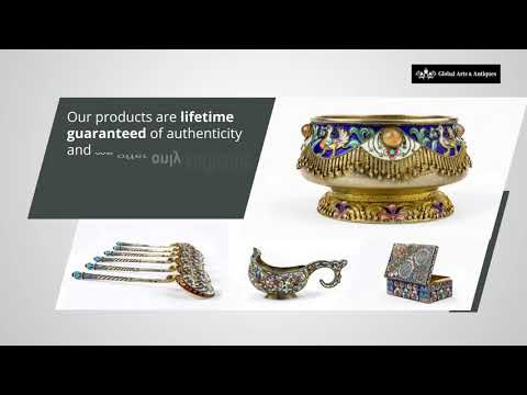 Russian Silver Antiques New York - Global Arts and Antiques