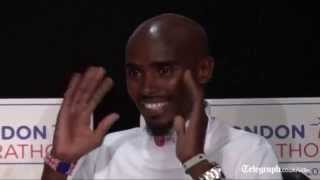 Mo Farah raring to go for London Marathon