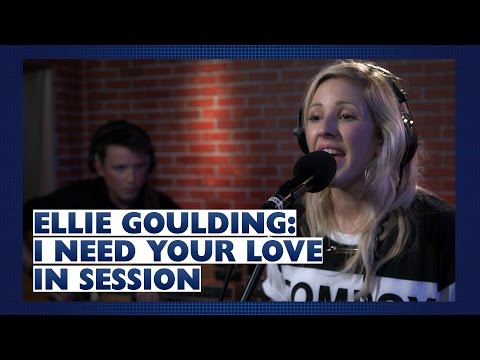 Ellie Goulding - I Need Your Love (Capital Session)