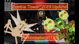 Roblox Zombie tower, 2019 time-lapse!