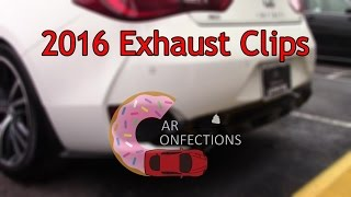 car confections exhaust clips a look back at 2016