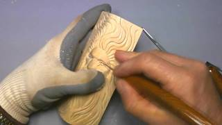Carving A Simple Woodspirit - Part 6