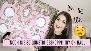SO GÜNSTIG GESHOPPT & GELD GESPART 💶 ⛔️  l BOOHOO TRY ON FASHION HAUL