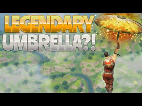LEGENDARY UMBRELLA!? (Fortnite Battle Royale)