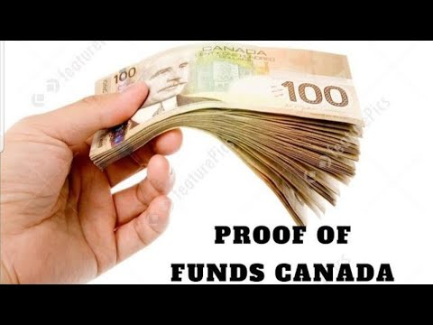 PROOF OF FUNDS CANADA