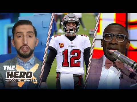 Brady showed Bucs HOW to win; Tampa is more talented than Chiefs — Shannon Sharpe | NFL | THE HERD