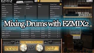 mixing drums with toontrack ezmix2   2probeats 2012