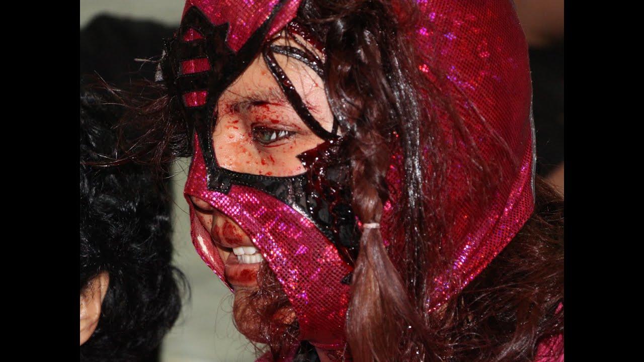 Lucha libre mascara vs bikini - 1 part 6
