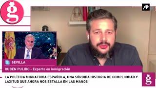 Rubén Pulido asegura que desde que Sánchez llegó al poder las cifras no dejan de aumentar