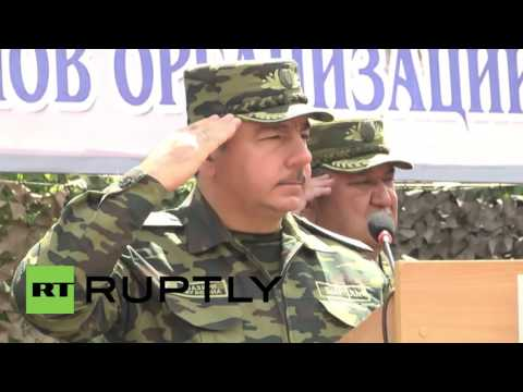 Tajikistan: CSTO member states assemble 1,500 troops for joint exercises