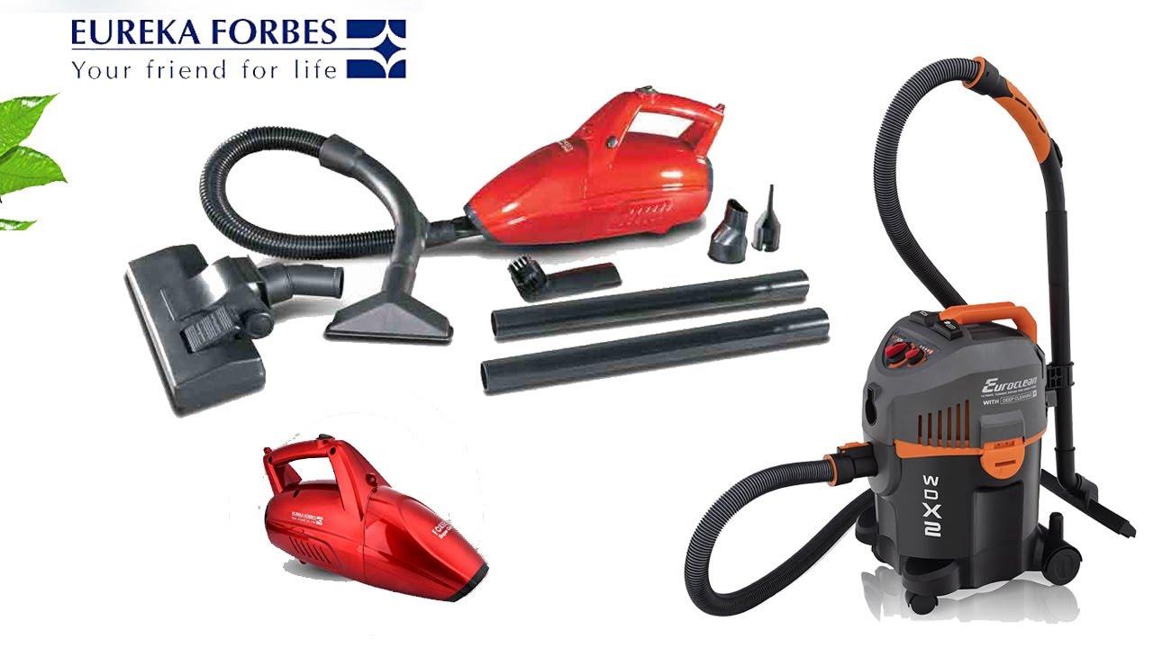 Eureka Forbes Super Clean Handheld Vacuum Cleaner Youtube