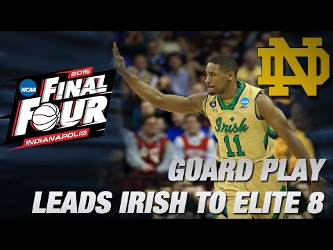Notre Dame's Guard Play Sparks Win Over Shockers | ACC Road To Indy