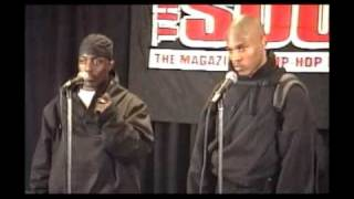 Sticky Fingaz Shoots Up the Source Awards